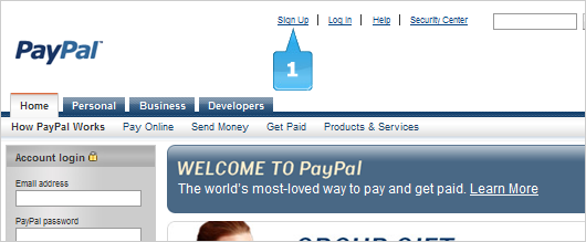 how to setup my paypal account to receive funds